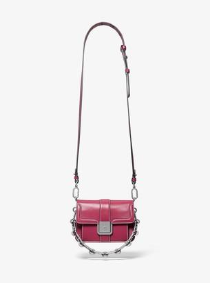MICHAEL Michael Kors Crawford Mini Leather Crossbody Bag