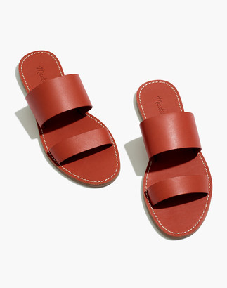 Madewell The Boardwalk Double-Strap Slide Sandal