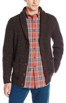 Pendleton Men's Tk Donegal Shawl Cardigan Sweater