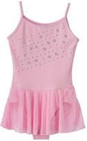 Jacques Moret Girls 4-14 Pink Cami Skirtall Leotard