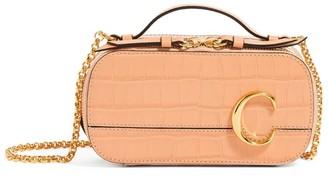 Chloé Mini Leather C Vanity Bag