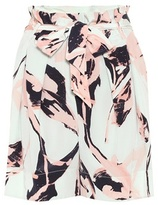 By Malene Birger Allurisi printed silk shorts