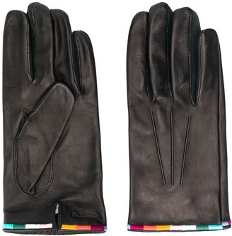 Paul Smith Embroidered Edge Gloves
