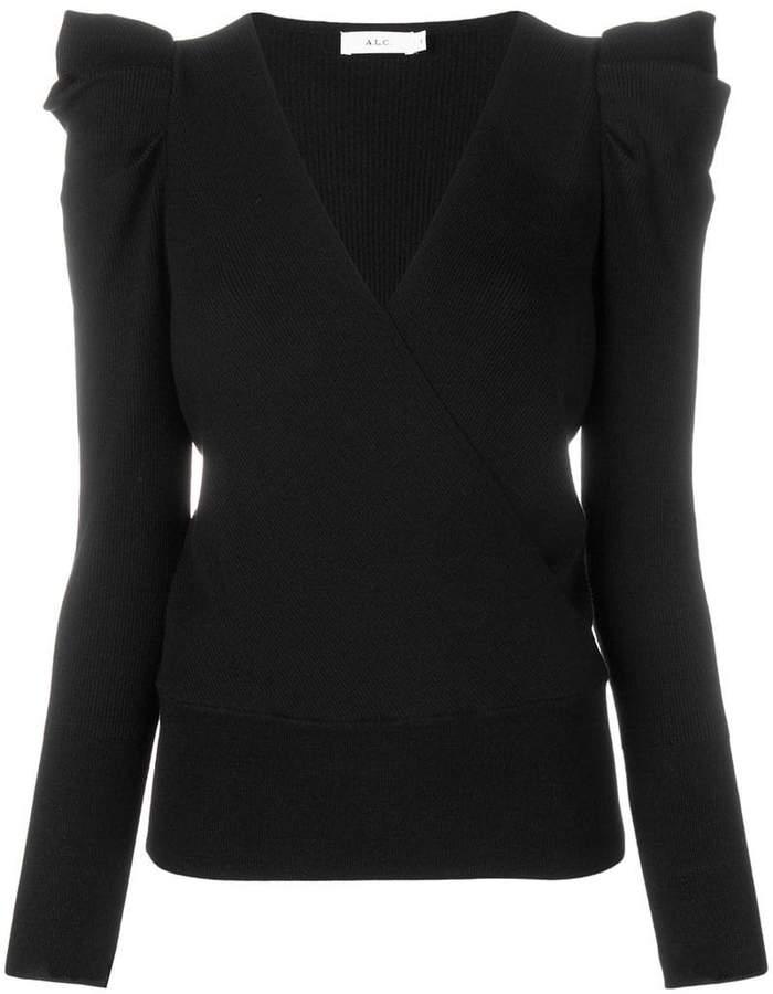 A.L.C. (エーエルシー) - A.L.C. ruffle shoulder sweater