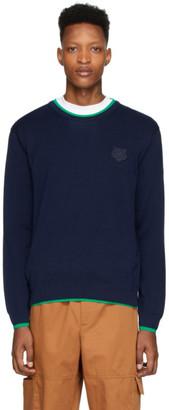 Kenzo Navy Tiger Crest Sweater
