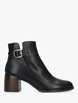 Chie Mihara Or-Omayo Block Heel Ankle Boots, Black