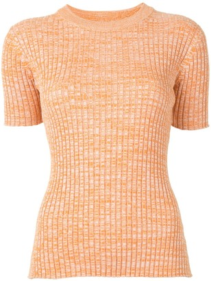 Anna Quan Bebe short-sleeved knitted top
