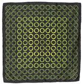 Tom Ford Silk Circle Print Pocket Square