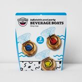 River Island Womens Inflatable ring beverage floats