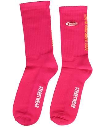 GCDS Socks With Barilla Patch