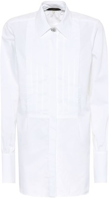 ALEXACHUNG Cotton shirt