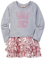Juicy Couture Juicy Crown Sweatshirt Dress (Little Girls)