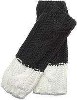 Nine West Color block Arm warmer with Cut-off Thumb