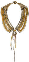 Erickson Beamon Crystal Chain Collar Necklace