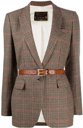 Dondup Checked Tailored Blazer