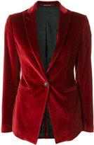 Tagliatore textured button blazer