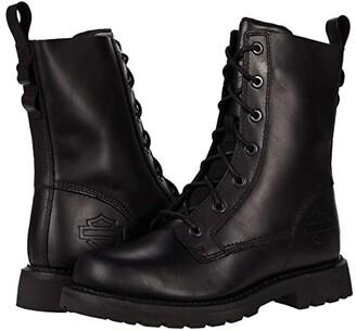 Harley-Davidson Beason 7 Lace (Black) Women's Boots