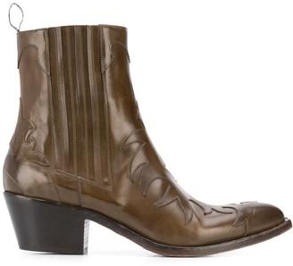 Sartore Western Applique Boots