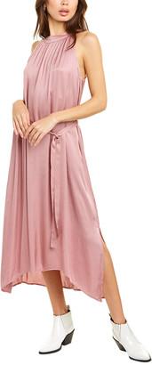 Velvet by Graham & Spencer Satin Maxi Dress