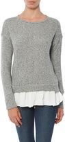 Maven West Laura Sweatshirt With Ruffle Hem