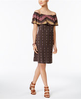 Style&Co. Style & Co Off-The-Shoulder Ruffled Dress, Created for Macy's