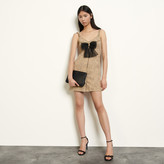 SandroSandro Tweed dress with straps