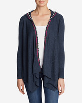 Eddie Bauer Women's Christine Hoodie Cardigan Sweater