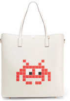 Anya Hindmarch Ebury Space Invader Embossed Leather Tote