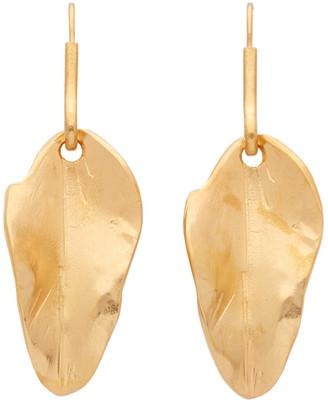 Marni Gold Leaf Earrings