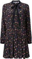 McQ by Alexander McQueen pleated floral print dress