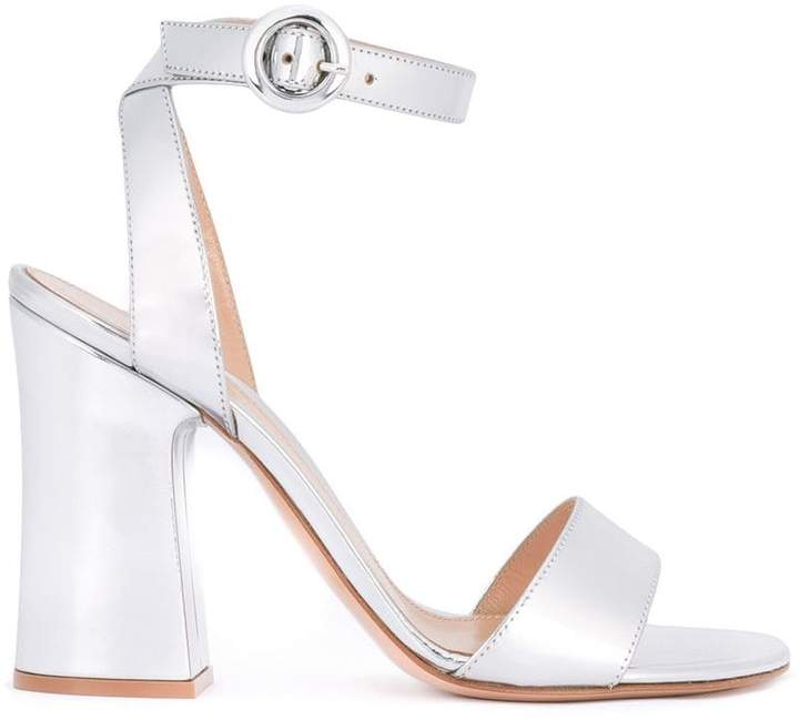 Gianvito Rossi block-heel sandals