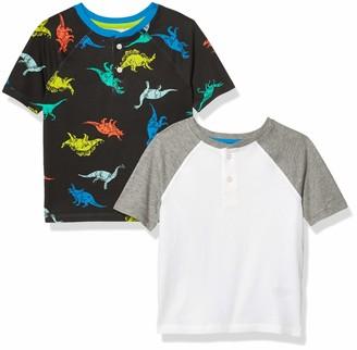 Amazon Essentials Short-Sleeve Henley T-Shirts