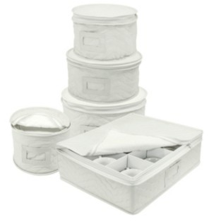 Sorbus Dinnerware Storage 5-Piece Set for Protecting or Transporting Dinnerware