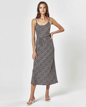 Charlie Holiday Daisy Midi Slip Dress