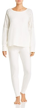 Flora Nikrooz Genna Brushed Knit Pajama Set