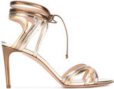 Casadei cut out stiletto sandals - women - Leather/Kid Leather - 35