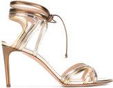Casadei cut out stiletto sandals