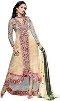 Ladyline Designer Wedding Georgette Embroidered Long Salwar Kameez Suit India