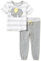 Starting Out Baby Boys 12-24 Months Short-Sleeve Elephant Top & Pants Set
