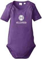 Touchlines Unisex baby Short Sleeve Bodysuit - Blue -