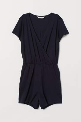 H&M Jersey Romper - Blue