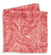 Saks Fifth Avenue COLLECTION Paisley Print Silk Pocket Square