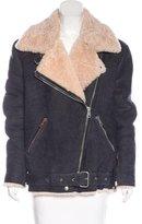 Acne Studios Velocite Shearling Coat