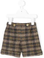 La Stupenderia check smart shorts