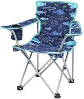 Joules Children's Folding Picnic Chair - Navy Shark Facts