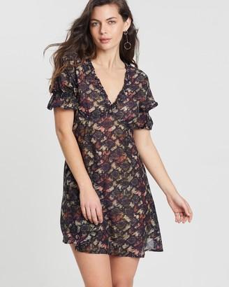 Kinga Csilla Serpentine Tea Dress
