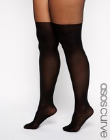 Asos Mock Over The Knee Tights With Support