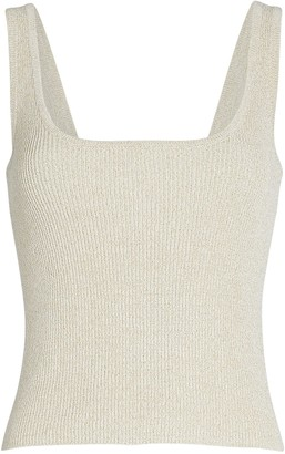 Intermix Morgan Lurex Knit Tank