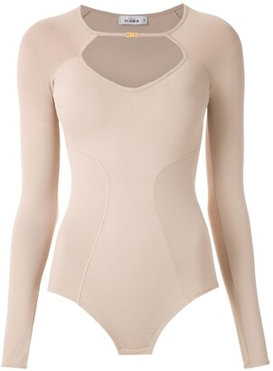 AMIR SLAMA Long Sleeved Bodysuit
