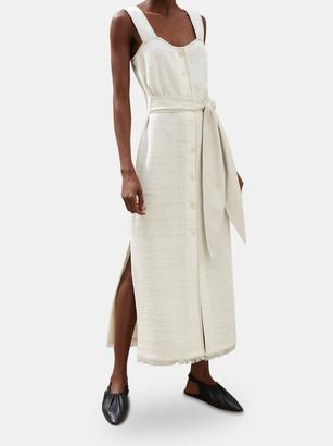 Nanushka Rita Apron Midi Dress